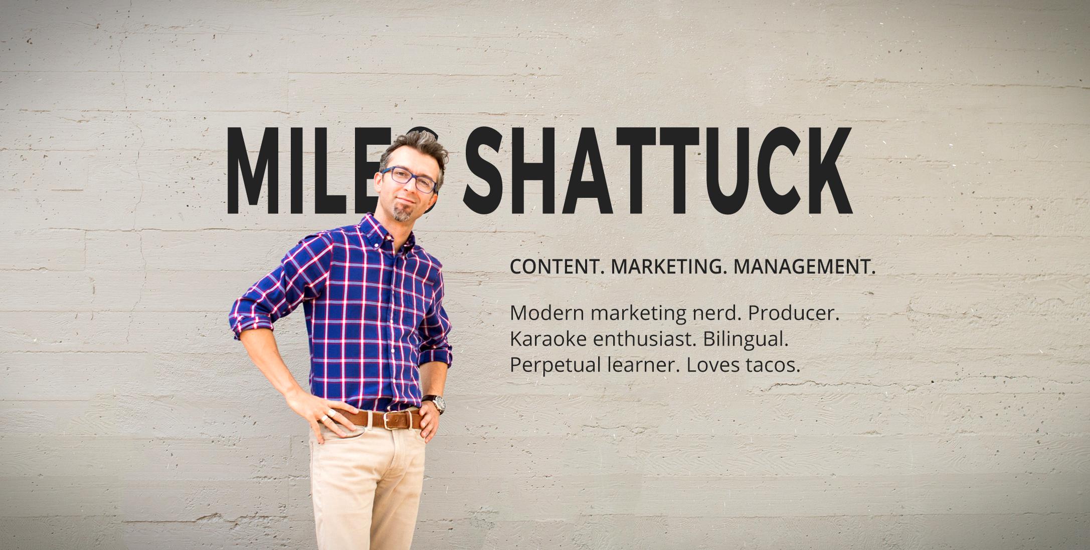 Miles Shattuck Online